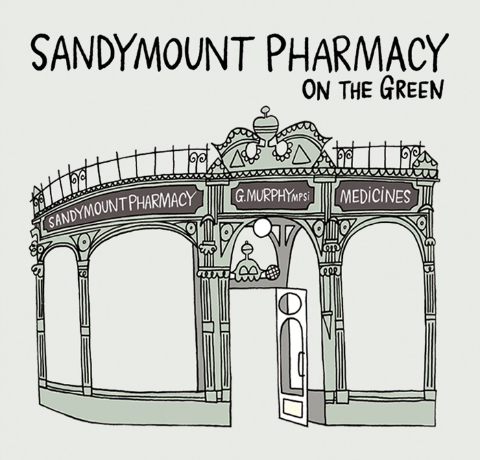Sandymount Pharmacy Logo Design